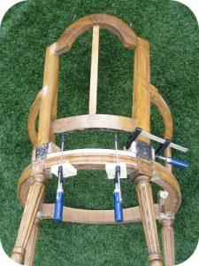 Traverse fauteuil Louis XVI