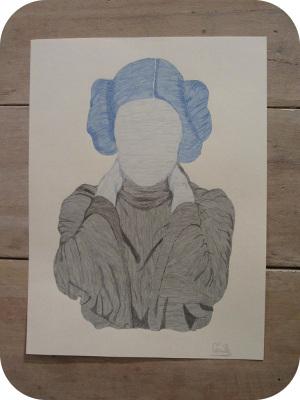 Dessin Leia