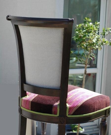 dossier chaise